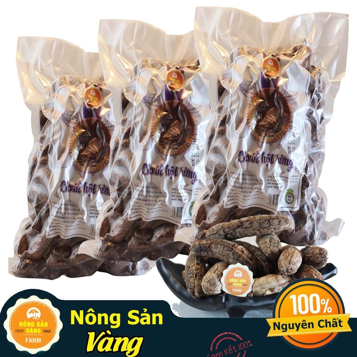Hot Deal Khi Mua Chuối Hột Rừng Chín 3kg - Nông Sản Vàng