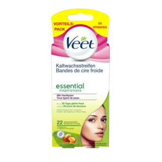 Hộp 22 Mếng dán tẩy lông vùng mặt Veet Essential - Đức thumbnail