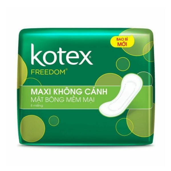 Kotex Freedom Bông Mềm Mại – Maxi Không Cánh