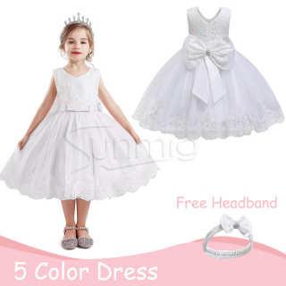 Váy Hoa Bé Gái, Đầm Dự Tiệc Cưới Công Chúa Cho Trẻ Mới Biết Đi, Đầm Bé Gái Ren Hoa Lễ Rửa Tội Váy Xòe Dạ Hội Trang Trọng Cho Bé 0-5 Tuổi