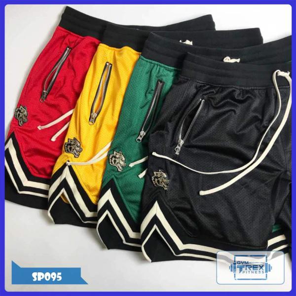 Quần đùi gym nam Trex Shop SP095 - Quần đùi thể thao nam thun (Men Pants, đồ tập quần áo gym, quần gym nam, mẫu short ngắn,thể hình,tạ Fitness)