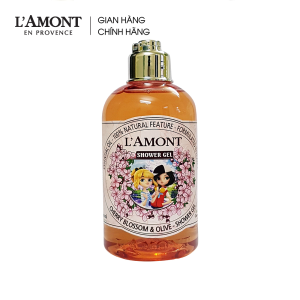 Sữa tắm cho bé (Kids) Cherry Blossom (hoa anh đào) 250ml - Lamont En Provence giá rẻ