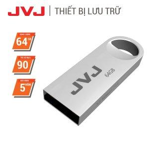 USB 64Gb 32Gb 16Gb 8Gb 4Gb JVJ S3 siêu nhỏ vỏ kim loại - USB 2.0, tốc độ upto 30MB s siêu nhỏ chống sốc chống nước, thiết kế vỏ nhôm nhỏ gọn, Flash Drive đầu kim loại siêu nhẹ kết nối nhanh Bảo hành 2 Năm 1 đổi 1 chính hãng thumbnail