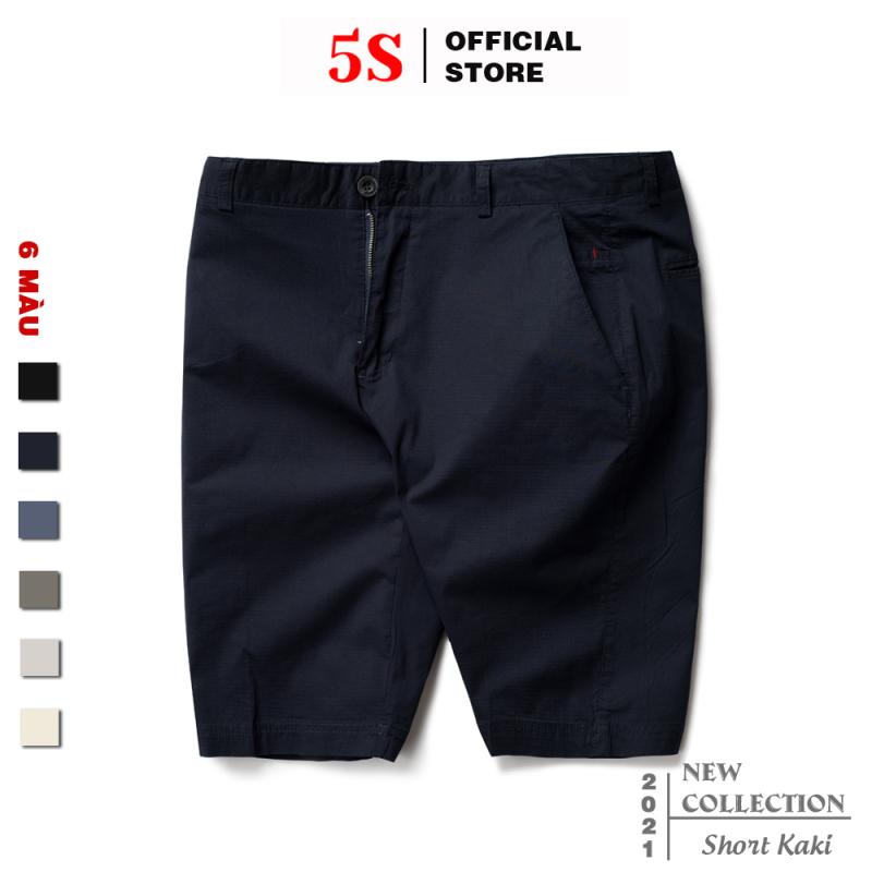 Nơi bán Quần Short Nam Kaki 5S (6 Màu), Chất Liệu Cotton Cao Cấp, Thiết Kế Lưng Cài Cúc, Co Giãn, Vận Động Thoải Mái (QSK21020-01)