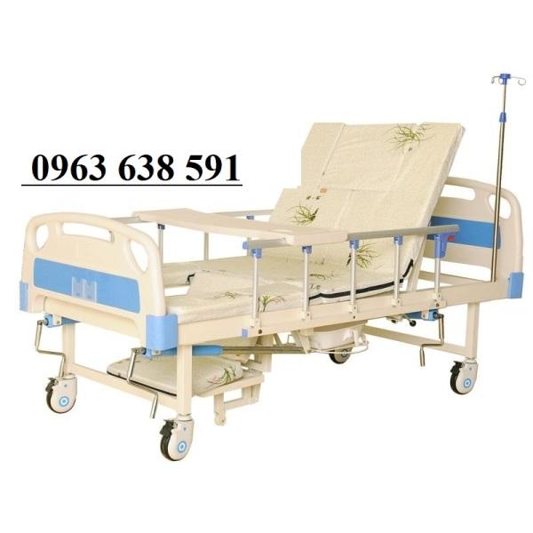 Giường Bệnh Đa Năng 4 Tay Quay - Giường Y Tế - Giường đa năng