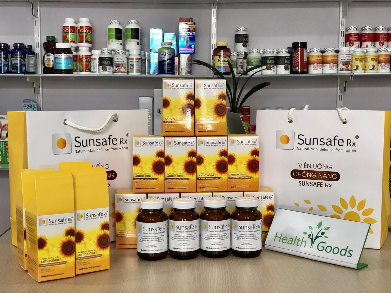 Viên uống chống nắng Sunsafe Rx 30 viên