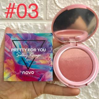 Phấn Má Hồng Dạng Loan NOVO Pretty For You No.5259 12g Siêu Đẹp thumbnail
