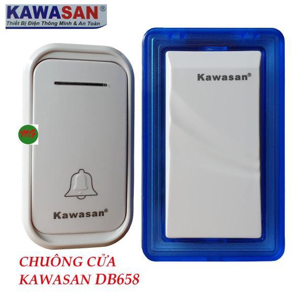 Chuông cửa không dây kết hợp đèn ngủ Led nhỏ Kawasan DB658 tích hợp thêm được đầu chuông hoặc nút nhấn
