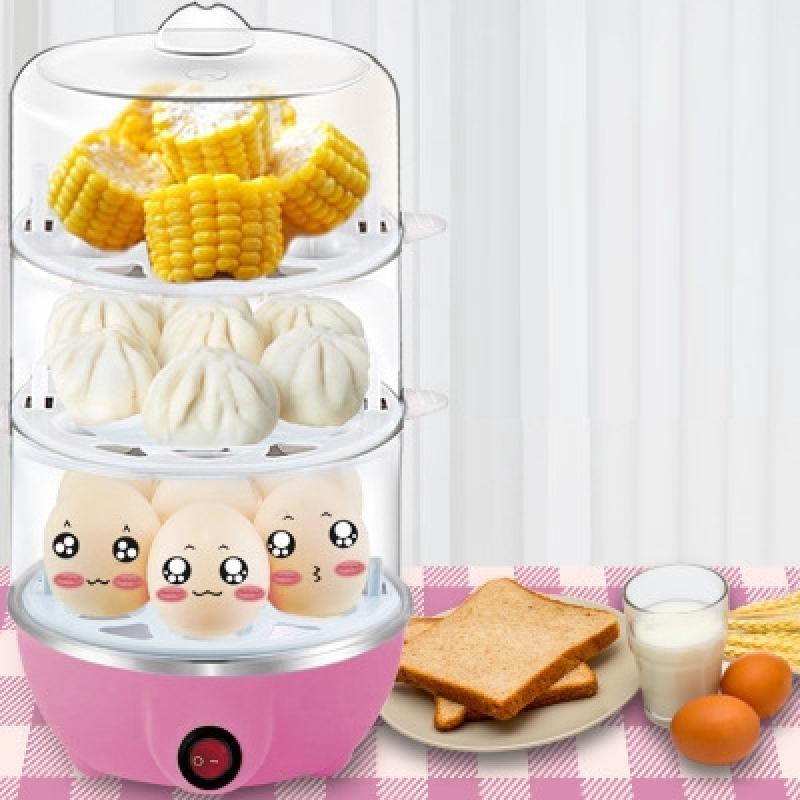 Lò hấp trứng công suất lớn Máy hấp trứng - Nồi nấu bữa sáng Artifact thông minh luộc trứng mini Máy nấu ăn bán chạy