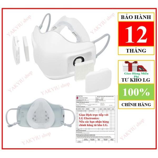 Khẩu trang lọc không khí LG PuriCare™ ( Chính hãng BH điện tử LG Electronics VN 12 tháng + màng lọc HEPA H13))