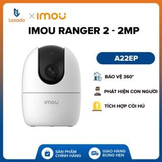 Camera Không Dây Wifi IMOU Ranger 2 A22EP 2MP Full HD 1080P Bảo vệ 360 Theo dõi chuyển động Tích hợp còi hú Đàm thoại 2 chiều thumbnail