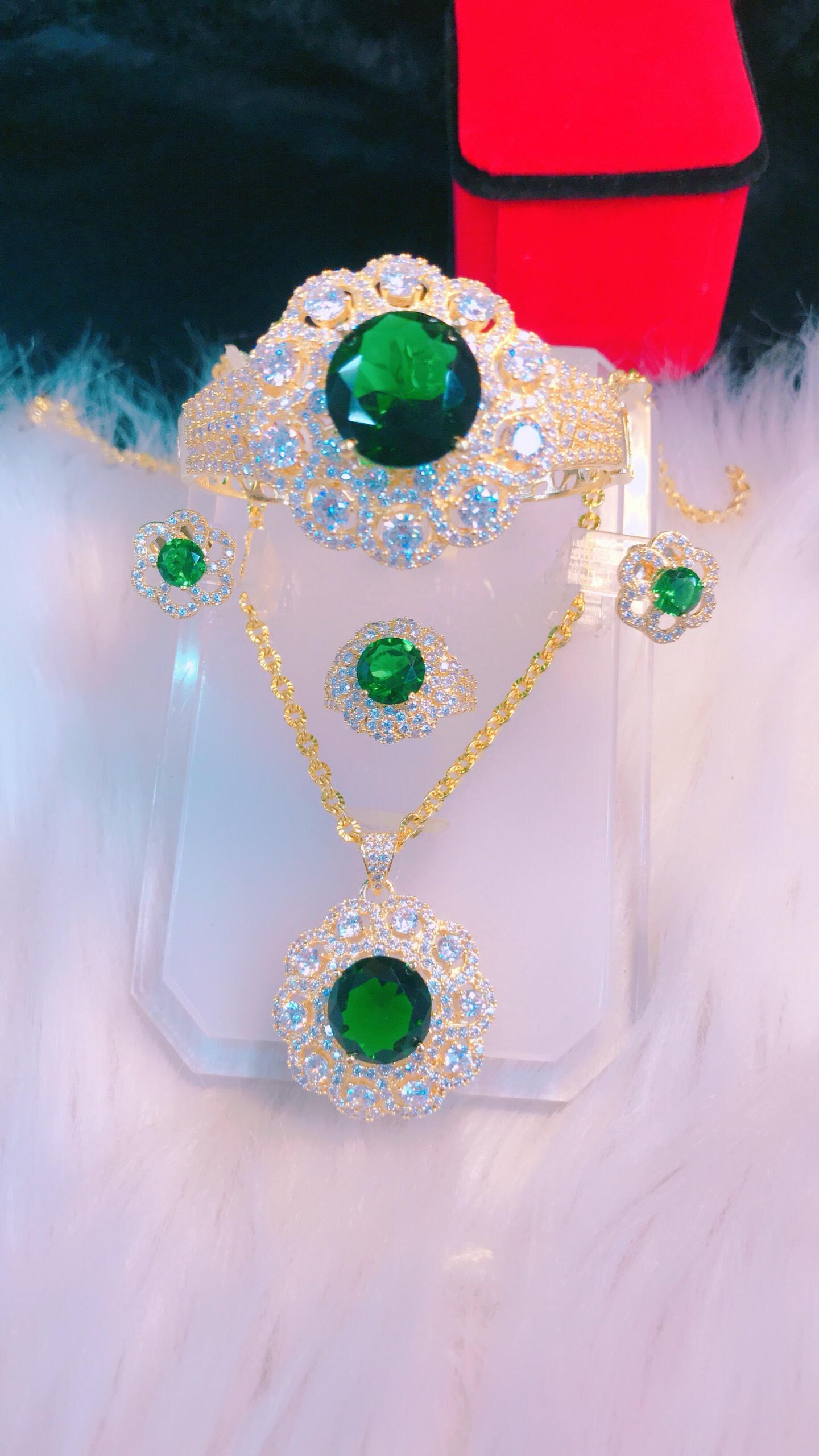 [ Bộ Trang Sức Nữ Đẹp - Bền Màu, Cam Kết Không Đen] Thiết Kế Sang Trọng Phù Hợp Với Mọi Lứa Tuổi, Đặc Biết Giống Vàng 99% - Givi - VB42605134  trang sức cao cấp , trang sức đá phong thủy , trang sức đồng giá , đồ trang sức nữ , đồ tr