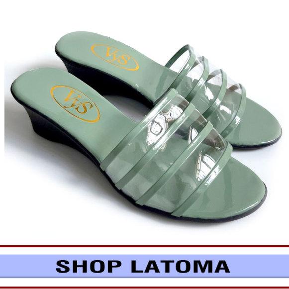 Dép quai ngang, dép nữ, đế đúc cao 3 phân viền quai mảnh tôn dáng dễ dàng phối đồ đi chơi hay dự tiệc thời trang cao cấp Latoma TA3501 (Nhiều màu) giá rẻ