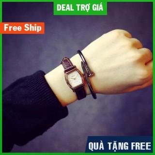 (FREE SHIP) Đồng Hồ Nữ Rate (Hong Kong) Mặt Oval Độc Đáo HÀNG CAO CẤP thumbnail