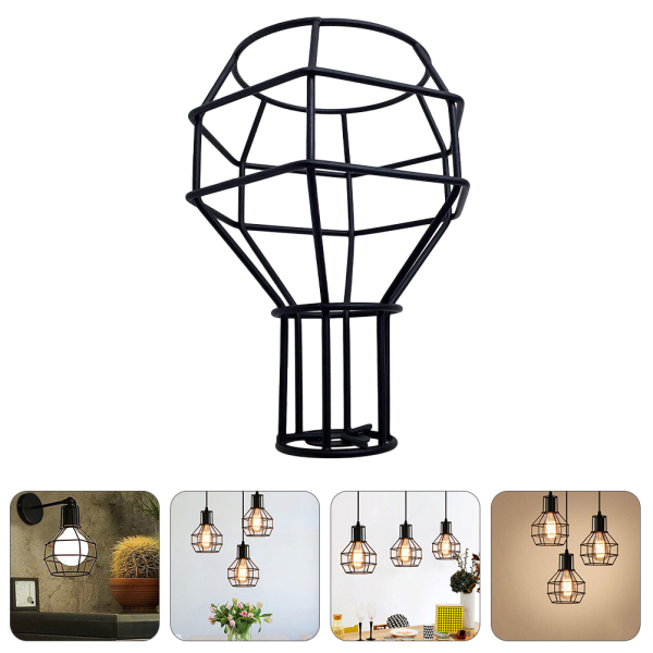 Bảng giá Ouruola【Ready Stock】Vintage Lamp Shade Iron Light Cover Pendant Lamp Shade Chandelier Cover