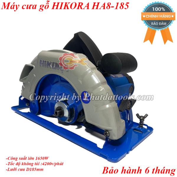 Máy cưa gỗ HIKORA HA8-185A-Công suất lớn 1650W-Tặng kèm lưỡi cưa-Chính hãng-Bảo hành 6 tháng