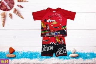 Đồ bơi bé trai hình xe Mc Queen từ 10-39kg-Đồ bơi trẻ em 2 mãnh-hình in sắc nét- Hương Nhiên thumbnail