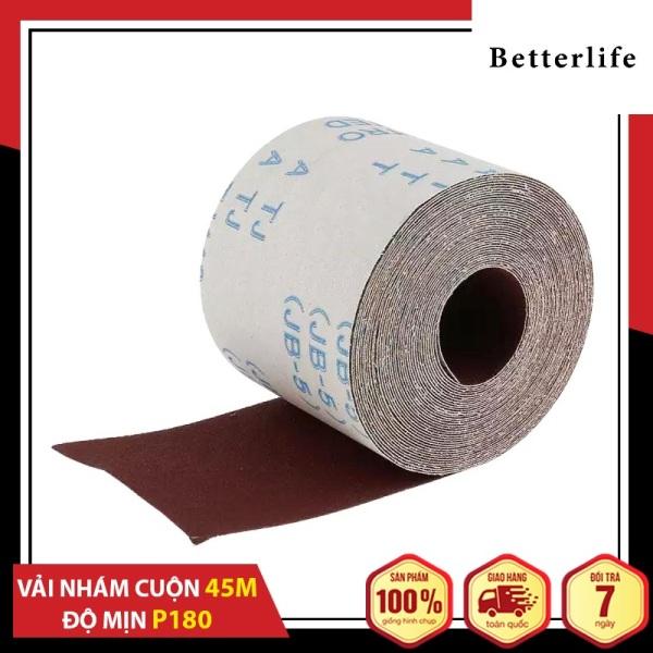Nhám vải cuộn JB-5 1 tấc dài 45m nhiều độ mịn nhám lựa chọn cao cấp - BetterLife