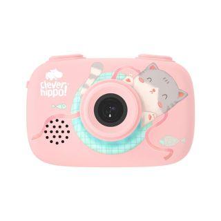 Máy ảnh CLEVER HIPPO TOY - Máy chụp hình thông minh - hồng dịu dàng - Mã SP YT011 PK thumbnail