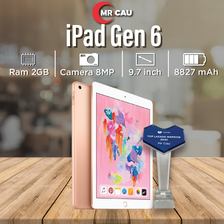 Máy tính bảng ipad gen 7 (2019) màn 10.02 inch ,4g/wifi ,sử dụng bàn phím  rời, apple pencil, ram 3g, chip a10 mr cau - Sắp xếp theo liên quan sản  phẩm