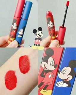 Tặng son dưỡng Son kem lì 3CE Tattoo Lip Tint phiên bản chuột Mickey vỏ xanh, đỏ thumbnail