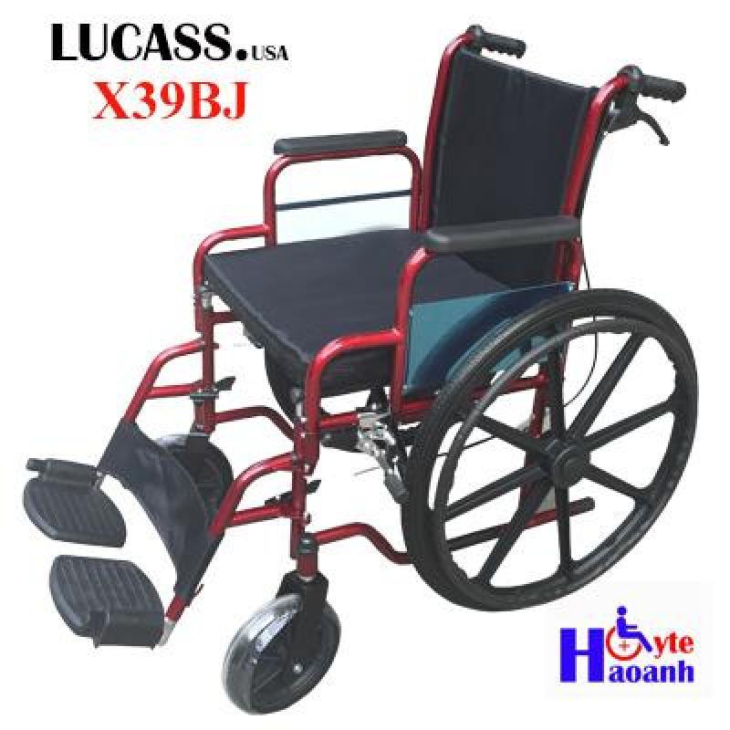 Xe lăn tay dáng thể thao Lucass X39BJ