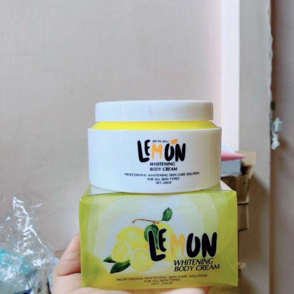 Kem Body Lemon Chanh nhập khẩu