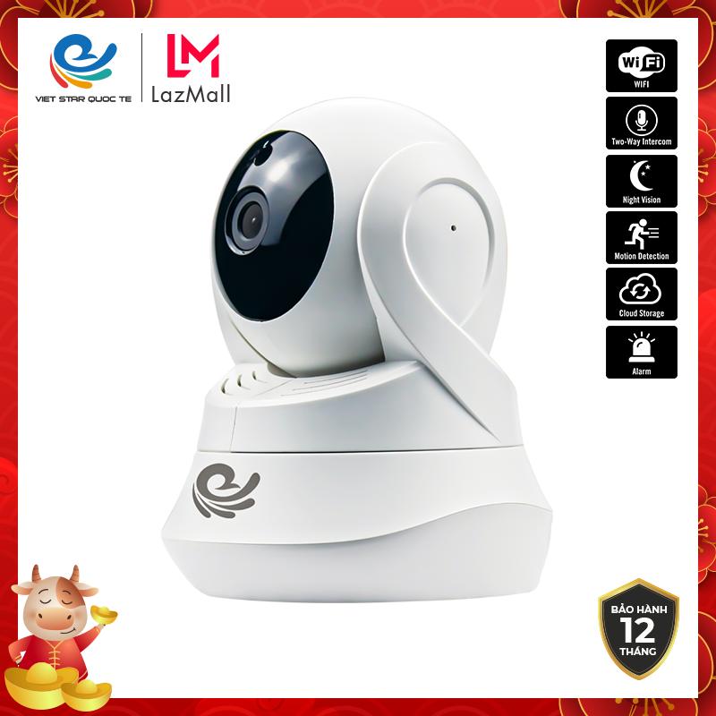 Camera WiFi IP CareCam CC2022- Độ phẩn giải 2.0MP Full HD 1080P- Hỗ trợ cổng LAN-Ban đêm tích hợp hồng ngoại- Bảo hành 12 tháng-CC2022