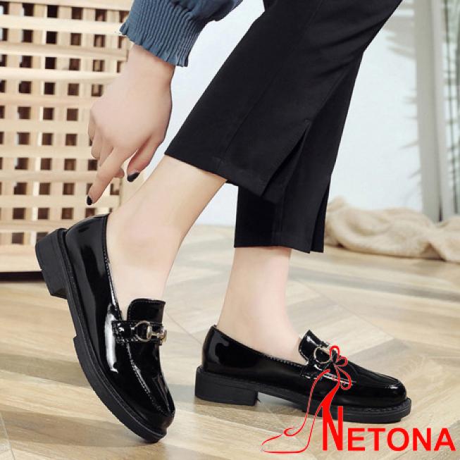 Giày Lười Oxford Nữ Vintage Phong Cách Hàn Quốc OX2(Giày form nhỏ hơn 1 size) giá rẻ