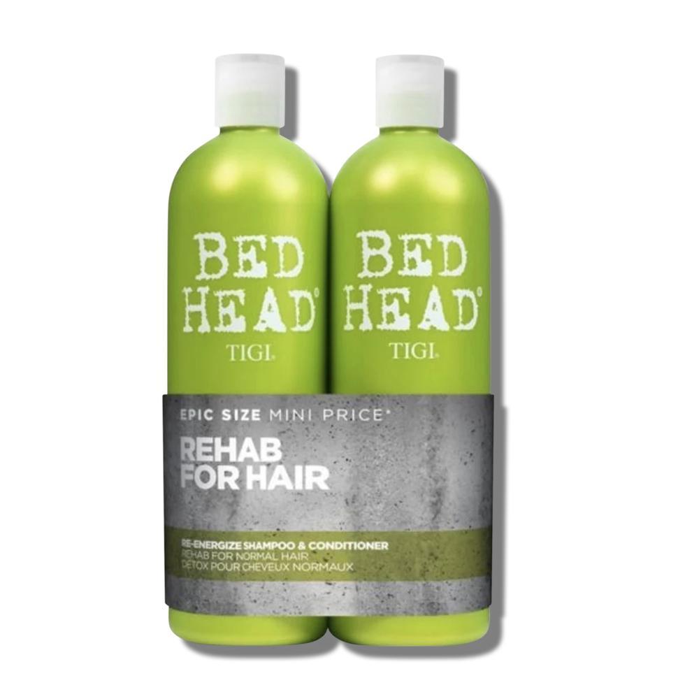 Bộ dầu gội & dầu xả Tigi Bed Head Re Energize 750ml Màu xanh lá cây nhập khẩu