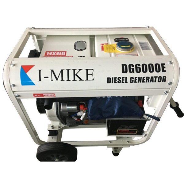 Máy Phát Điện Chạy Dầu 5Kw I-MIKE DG6000E
