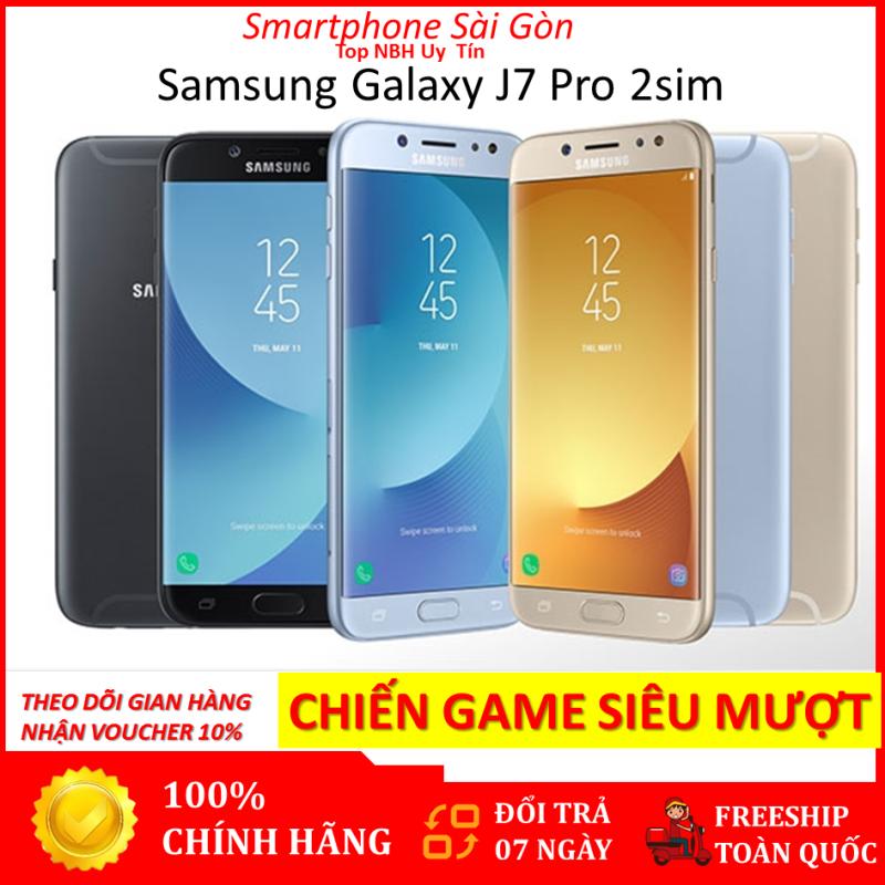 SAMSUNG GALAXY J7 PRO (J730) 2sim Ram 3G/32G mới - Pin khủng 3600mah - MÁY CHÍNH HÃNG - Bảo hành 12 tháng