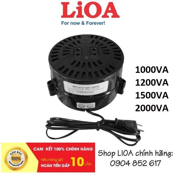 Biến áp đổi nguồn LIOA 1000/1200/1500/2000VA (nguồn vào 220V / nguồn ra 100-120V)