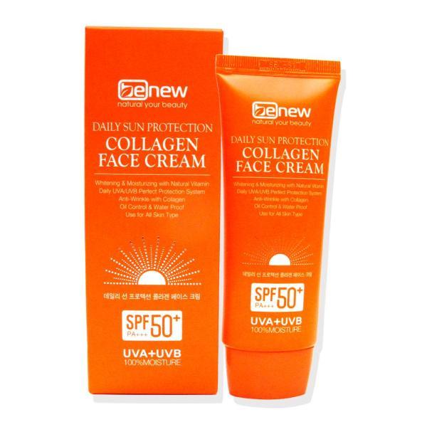 Kem chống nắng dưỡng trắng da tinh chất collagen Benew Hàn quốc (70ml)