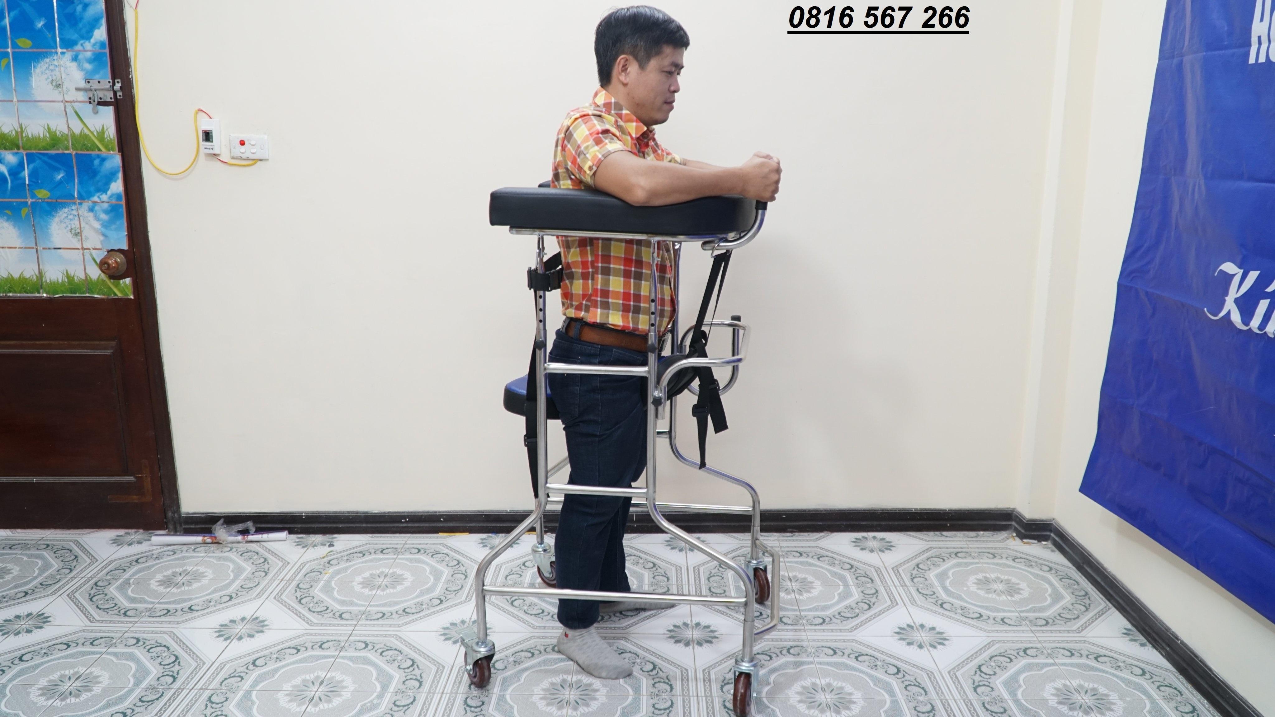 Khung tập đi cho bệnh nhân tai biến và người cao tuổi cao cấp