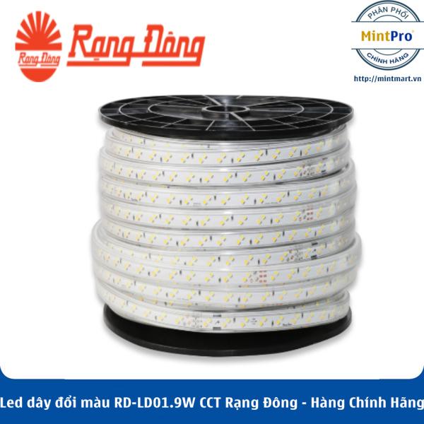 Led dây đổi màu RD-LD01.9W CCT Rạng Đông - Hàng Chính Hãng