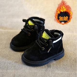 Giành Cho Nam Dr. Martens Giày Cotton Trẻ Em Mùa Đông Mịn Hơn Phụ Nữ Trẻ Con Bốt 1 3 Tuổi Đế Mềm Giày Cho Bé Bốt Ngắn Thủy Triều thumbnail