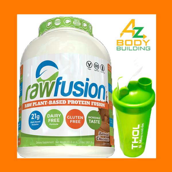 S.A.N RawFusion protein dành cho người ăn chay - Tặng kèm bình lắc THOL màu ngẫu nhiên