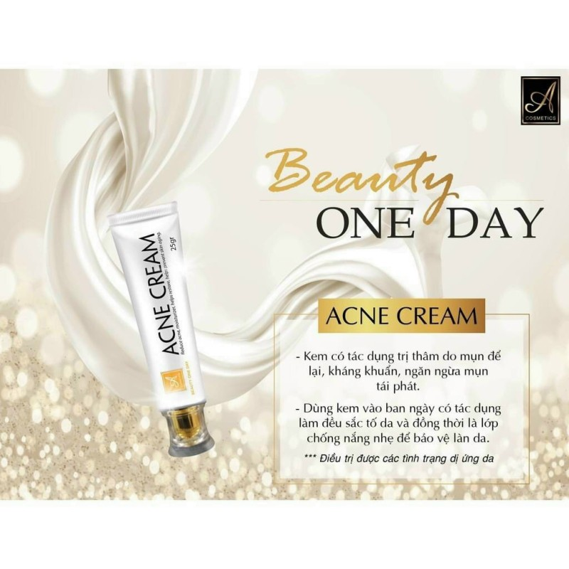 Combo  Beauty one day A Cosmetic cao cấp