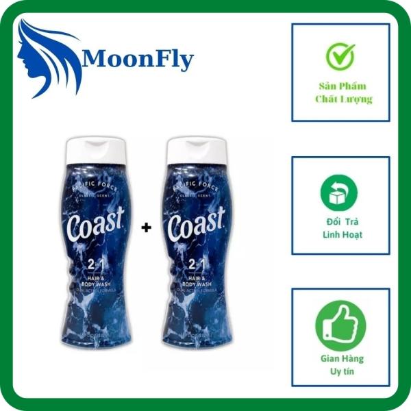 MoonFly Shop ,Sữa tắm,dầu gội nam Coast 2 trong 1,sữa tắm,dầu gội dành cho nam,hương thơm mát diệt khuẩn làm sạch cơ thể,cân bằng độ ẩm ,sữa tắm dạng gel dễ chịu khi tắm giá rẻ