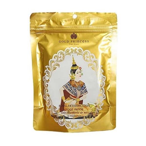 Miếng dán thải độc chân Gold Princess Thái Lan S000