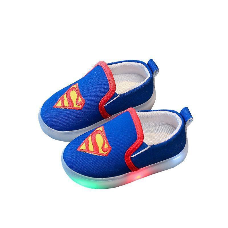 Giày Siêu Nhân Batman Người Nhện Cho Bé Trai Có đèn ở đế Các Bé Rất Thích Khuyến Mãi Sốc