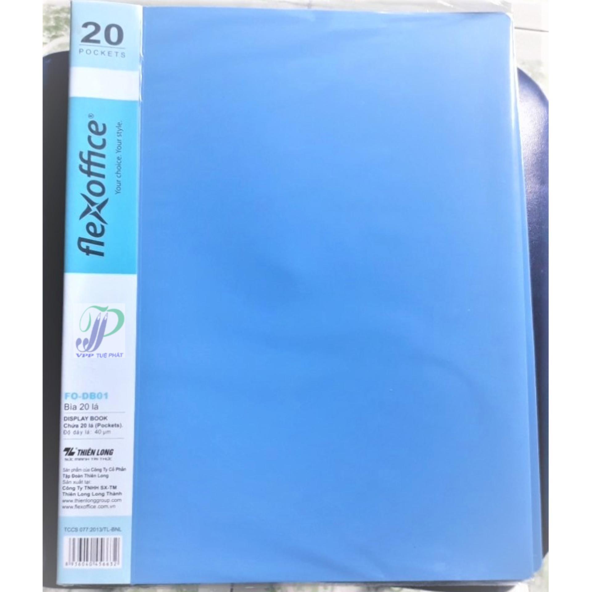 Mua Bìa nhựa 20-40-60-80-100 lá Thiên Long FO DB