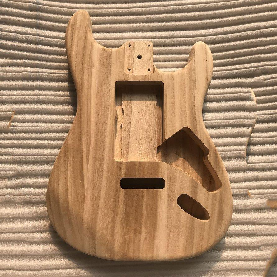 OSMAN Chưa Hoàn Thành TỰ LÀM Thân Đàn Guitar Phong Cơ Thể Cho Fender ST Guitar Phong Cách