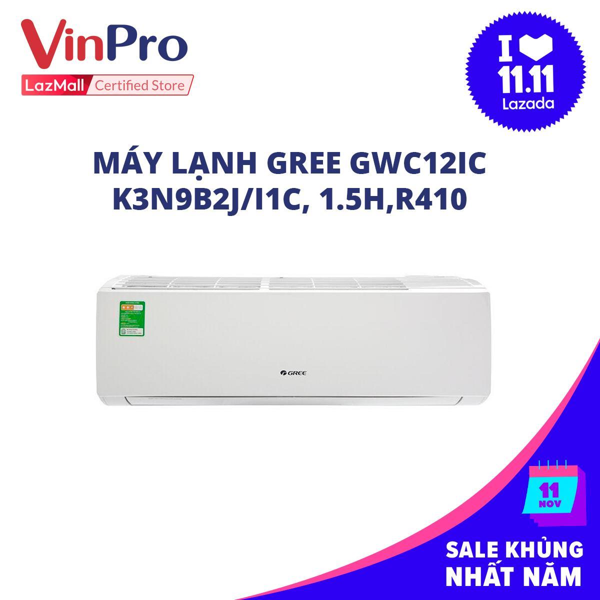 Bảng giá Máy lạnh Gree GWC12IC-K3N9B2J/I, 1C, 1.5H,R410