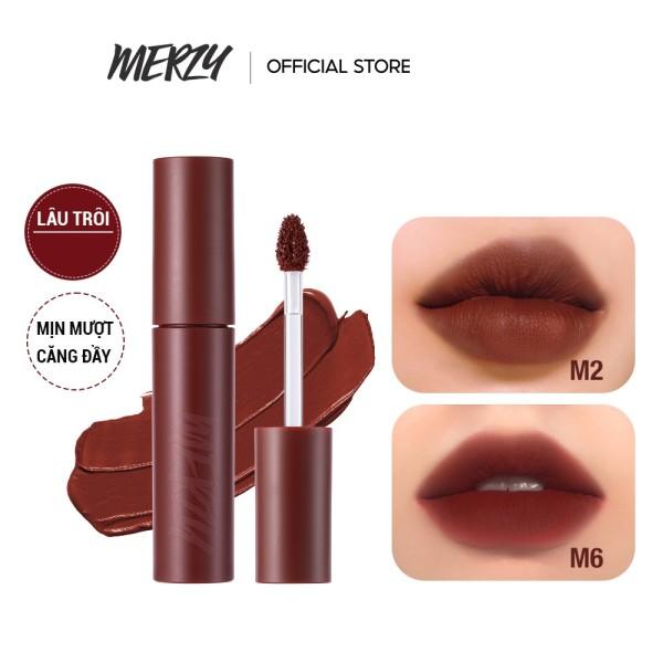 [New Ver.Girl][Màu M1-M8] Son kem lì Merzy Bite The Beat Mellow Tint 4g [Chính Hãng] cao cấp