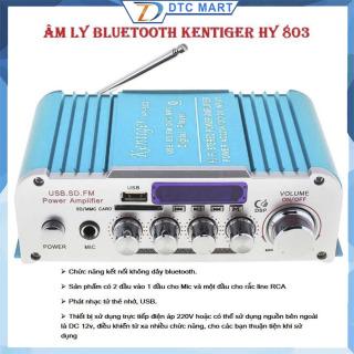 Máy Amply Bluetooth, Ampli Karaoke 12V, Amly mini Karaoke Kentiger HY 803, Âm Thanh Cực Đỉnh, Hàng Nhập Khẩu - H7F thumbnail