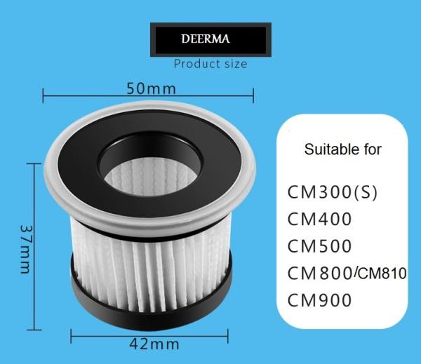 Bảng giá Phụ kiện thay thế Bộ Lọc Lõi lọc HEPA filter Máy Hút Bụi diệt khuẩn giường nệm Deerma CM900 / CM800 / CM810 / CM400 / CM500 / CM300 (S) hàng có sẵn Điện máy Pico