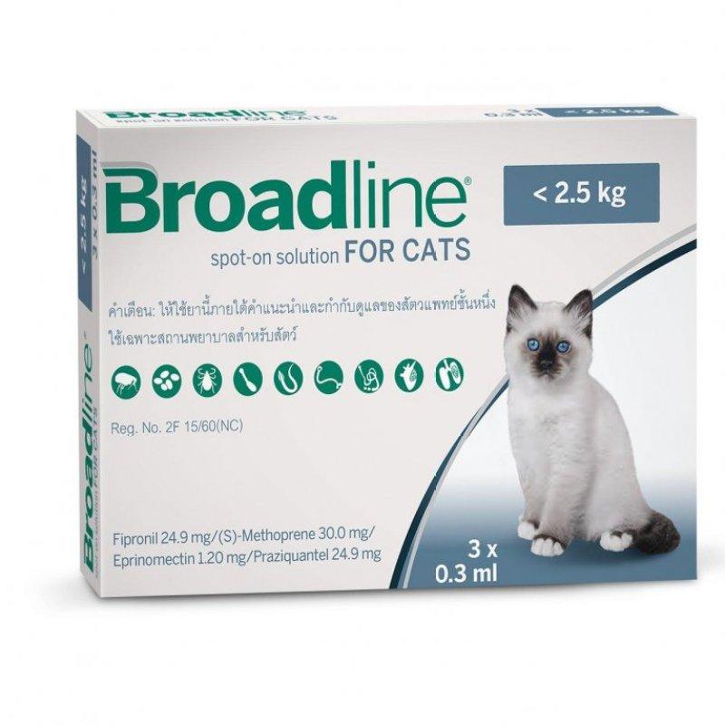 BROADLINE SPOT ON FOR CAT 2.5KG