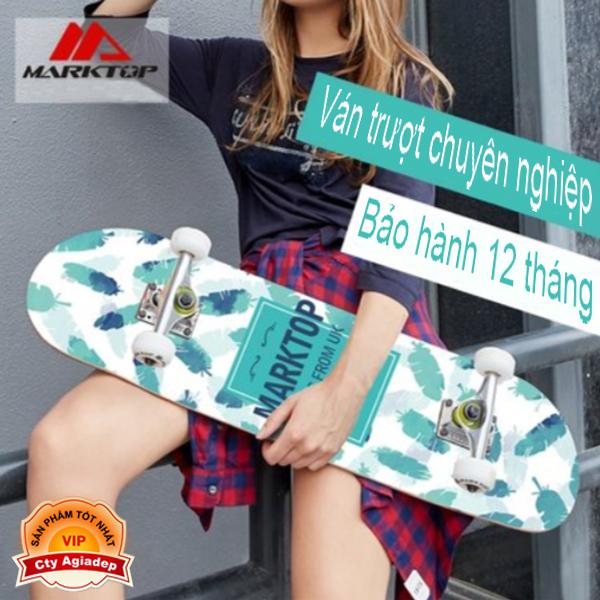 Giá bán Ván trượt chuyên nghiệp dành cho thanh thiếu niên - Skateboard Marktop (Bản UK)